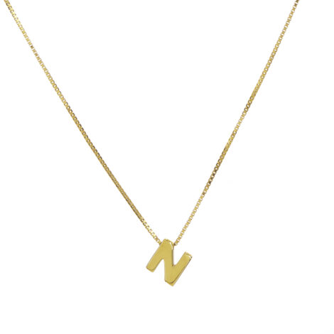 Capital Letters Necklace