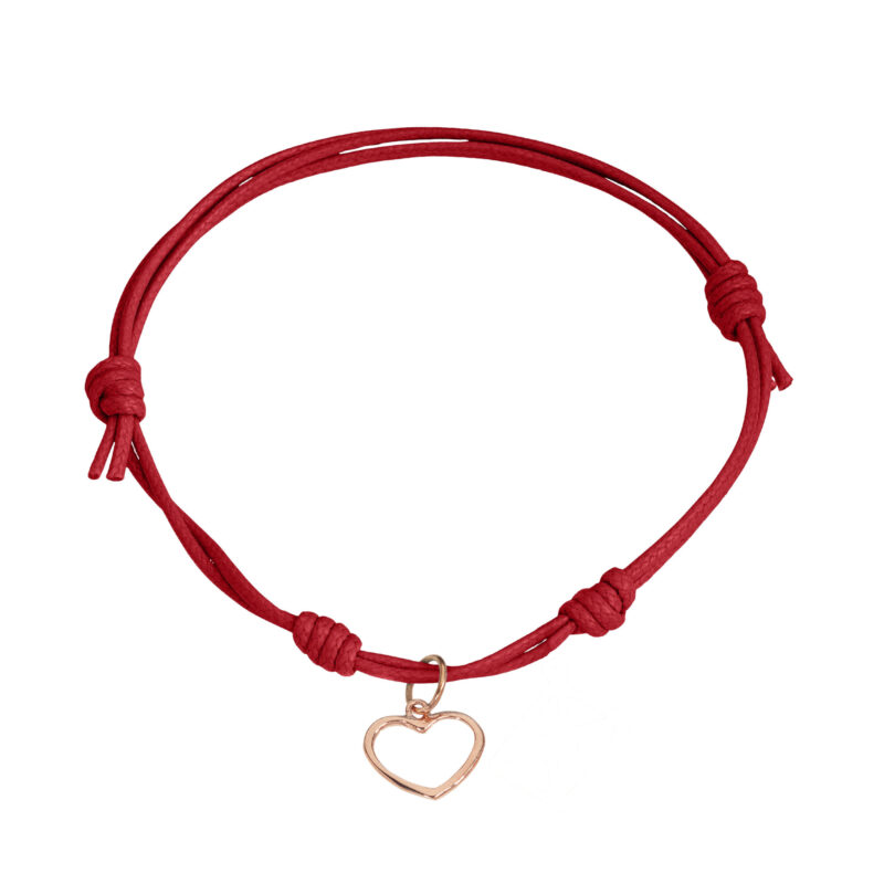 Heart wire charm