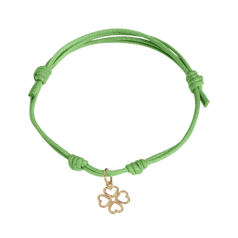 Four-leaf clovers charm