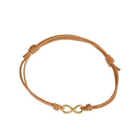 Infinity Cord Bracelet