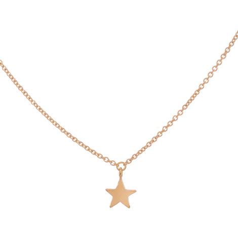 Pendant Slab Star Necklace
